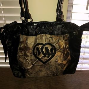 Metal Mulisha real tree purse